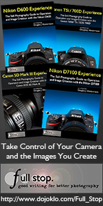 dSLR camera manual Canon Nikon user guides